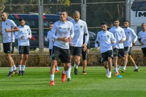 من تدريبات منتخب المغرب