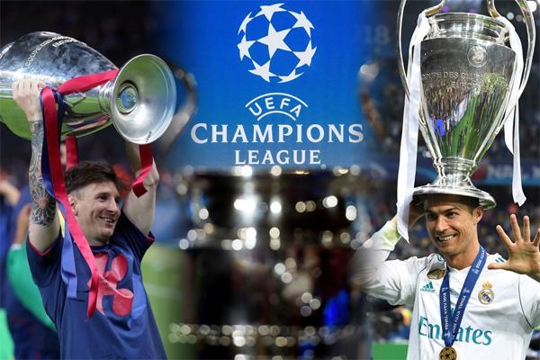 سبق لميسي ورونالدو ان تقابلا في نهائي البطولة الذي أقيم بين برشلونة ومانشستر يونايتد عام 2009