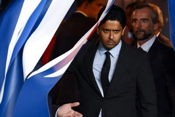 قطري ناصر الخليفي رئيس نادي باريس سان جرمان