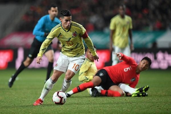 كوريا الجنوبية تلحق الخسارة الأولى بكولومبيا مع كيروش