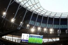 ملعب توتنهام الجديد يستضيف مباراته التجريبية الأولى