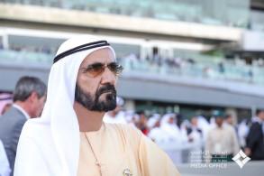 جواد الشيخ محمد بن راشد يغير تاريخ سباقات الخيول!