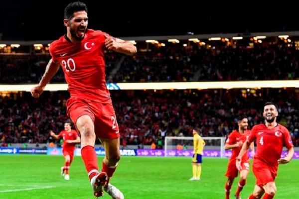 تركيا تكرم وفادة مولدافيا برباعية في تصفيات كأس أوروبا