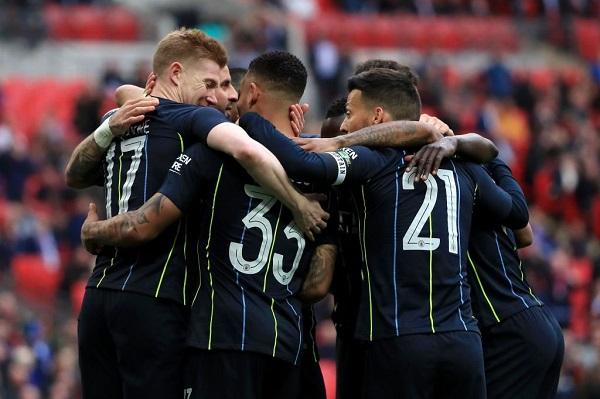 مانشستر سيتي يبلغ نهائي كأس إنكلترا بفوز صعب على برايتون