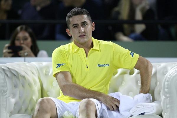 لاعب كرة المضرب الإسباني نيكولاس ألماغرو