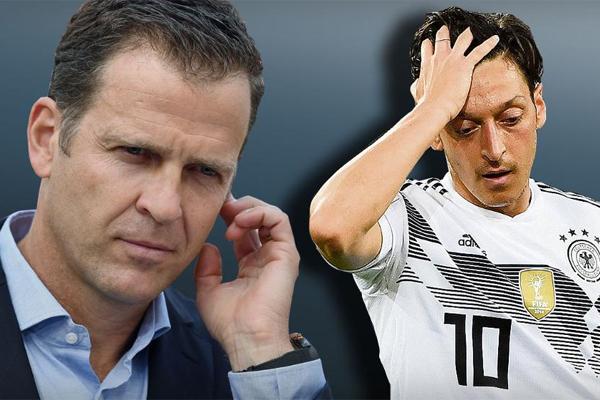 أقر مدير المنتخب الألماني أوليفر بيرهوف الأربعاء بارتكاب أخطاء في التعامل مع مسعود أوزيل