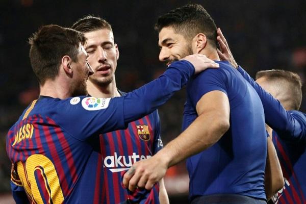 برشلونة وميسي للتخلص من لعنة ربع النهائي أمام