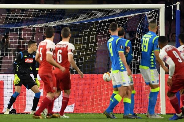 بلغ أرسنال الإنكليزي الدور نصف النهائي لمسابقة الدوري الأوروبي