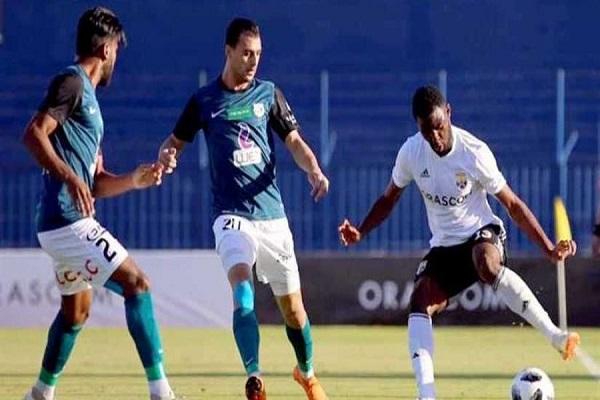 أنبي يقسو على الجونة في الدوري المصري
