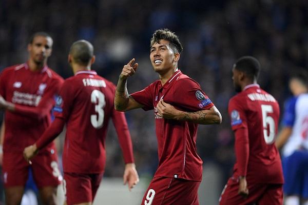 ليفربول يواجه برشلونة في نصف النهائي بتجديده الفوز على بورتو