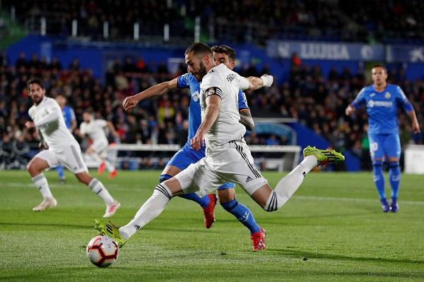 خيتافي ينتزع تعادلا ثمينا من ريال مدريد
