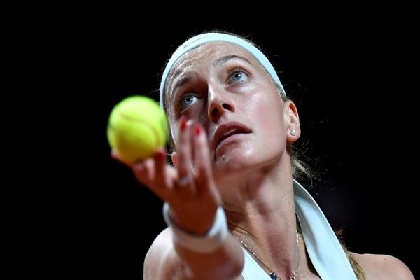 تأهلت التشيكية بترا كفيتوفا الى نهائي دورة شتوتغارت بفوزها على كيكي برتنز في الدور نصف النهائي في 27 نيسان/ أبريل 2019
