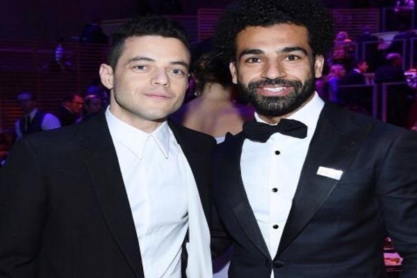 رامي مالك ومحمد صلاح