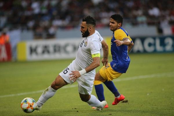 النصر يجدد فوزه على الزوراء ويعزز حظوظه في دوري أبطال اسيا