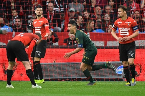 فالكاو يمنح موناكو نقطة ثمينة من رين في الدوري الفرنسي
