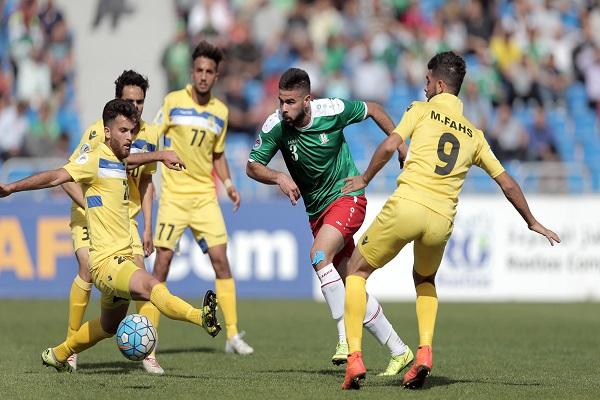 العهد-الوحدات والجزيرة-الجيش في نصف نهائي كأس الاتحاد الأسيوي
