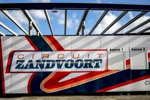 صورة تظهر شعار حلبة زاندفورت الهولندية التي تستقبل مجددا سباقات الفورمولا واحد