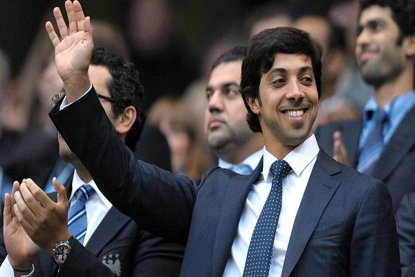 الشيخ منصور بن زيد آل نهيان مالك نادي مانشستر سيتي
