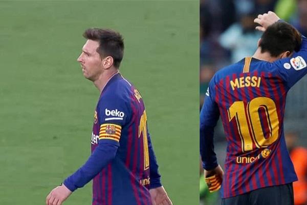 ميسي يرفض تحية جماهير برشلونة بسبب كوتينيو وبوسكيتس