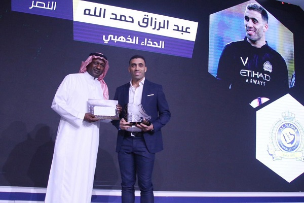 المغربي عبد الرزاق حمد الله أفضل لاعب في الدوري السعودي