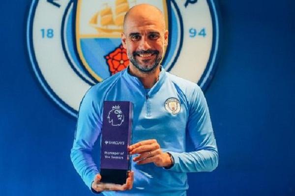غوارديولا يحرز جائزة أفضل مدرب في الدوري الإنكليزي