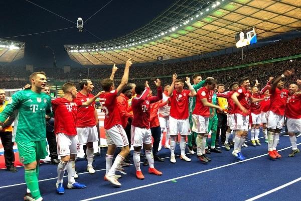 بايرن ميونيخ يحرز لقب كأس ألمانيا ويحقق الثنائية