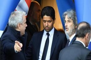 القطري ناصر الخليفي، رئيس نادي باريس سان جرمان الفرنسي ومجموعة