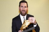 ميسي يتوج بجائزة الحذاء الذهبي للمرة السادسة