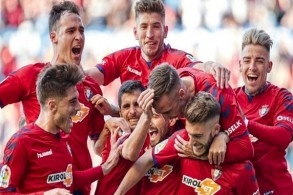 أوساسونا يضمن عودته للدرجة الأولى في الدوري الإسباني