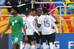 المنتخب السعودي يسقط بثنائية أمام فرنسا في كأس العالم للشباب