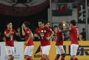 غوانغجو وكاشيما يكملان عقد دور الـ16 من دوري أبطال آسا