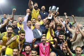 العهد يضيف لقب كأس لبنان إلى الدوري