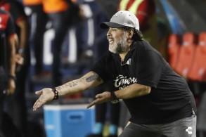 أسطورة كرة القدم الأرجنتينية دييغو أرماندو مارادونا