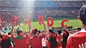 مشجعون مغاربة
