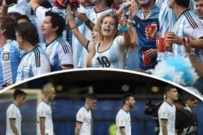 تبدو غالبية الجماهير الأرجنتينيةغير متفائلةبفرصة منتخب بلادهاللفوز بلقب بطولة كوبا أميركا
