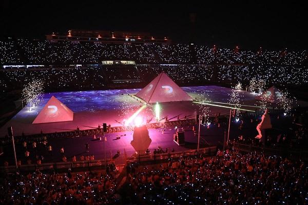 حفل افتتاح كأس الأمم الأفريقية حظى باعجاب واسع