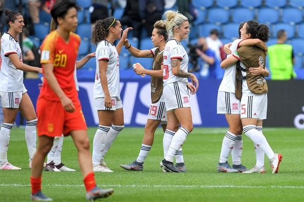 إسبانيا والصين تلحقان بألمانيا إلى ثمن نهائي مونديال السيدات