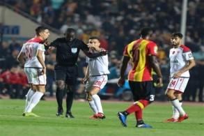 من مباراة الترجي التونسي والوداد المغربي