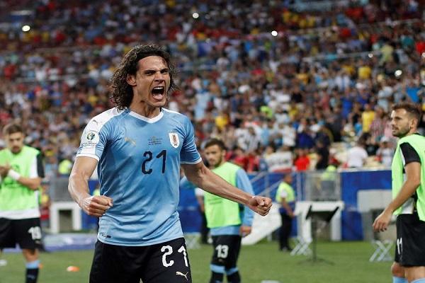 الأوروغواي تتفادى كولومبيا في ربع النهائي