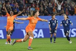 هولندا تثأر من اليابان وتواجه إيطاليا في ربع نهائي مونديال السيدات