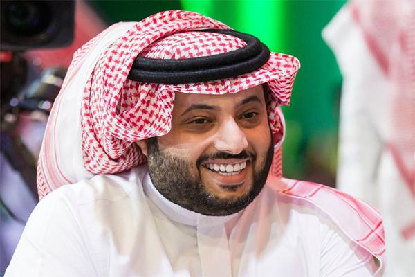 رئيس مجلس ادارة الهيئة العامة للترفيه السعودية تركي آل الشيخ