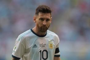 جم كرة القدم الأرجنتيني ليونيل ميسي مهاجم برشلونة الإسباني