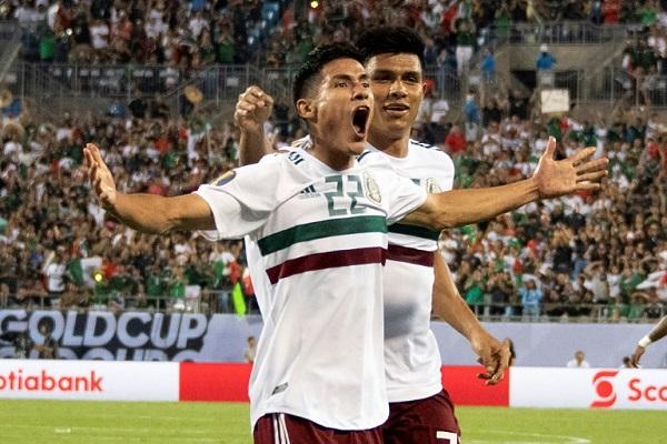 تأهل روتيني للمكسيك إلى ربع نهائي الكأس الذهبية