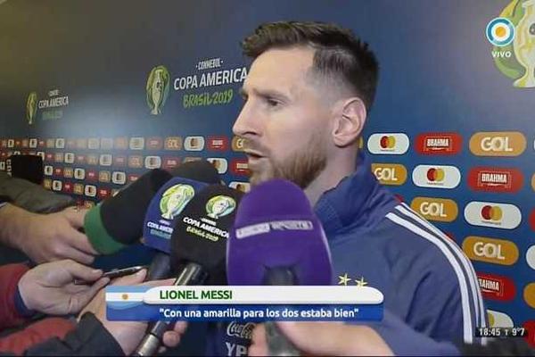 جدد نجم برشلونة الإسباني ليونيل ميسي هجومه على اتحاد أميركا الجنوبية لكرة القدم