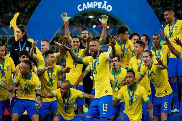 البرازيل تعاود الوصل مع اللقب في غياب نيمار وتبني للمستقبل