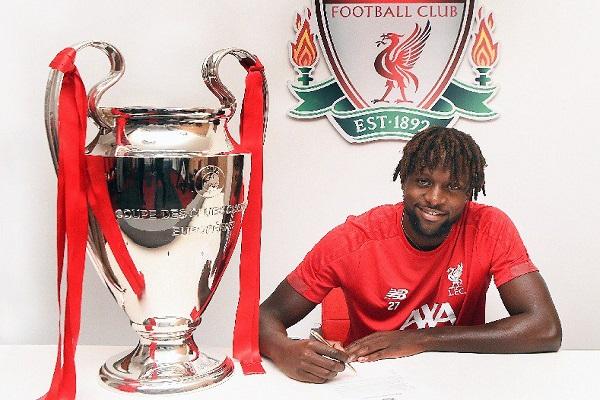 البلجيكي أوريجي يمدد عقده مع ليفربول لأمد طويل
