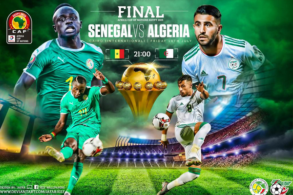 تشكل مواجهة الجزائر والسنغال على نهائي كأس أمم إفريقيا استمراراً للصراع بين شمال القارة وغربها