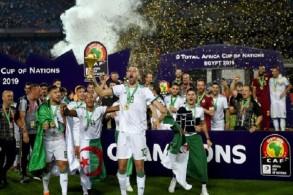 تتويج الجزائر باللقب