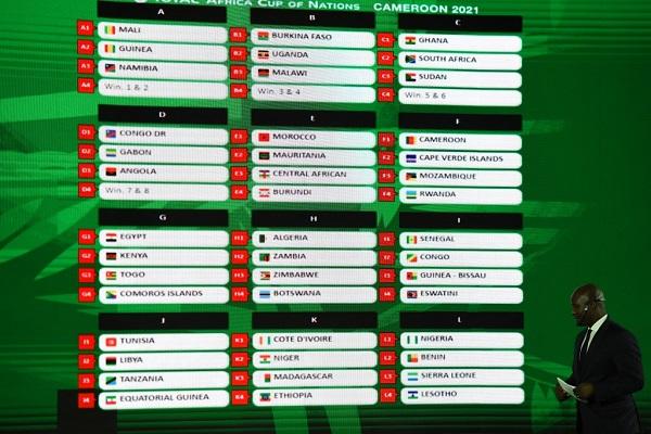 تعرف على نتائج قرعة تصفيات كأس أمم إفريقيا 2021