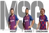 الأرقام ترشح ثلاثي هجوم برشلونة الجديد ليكون الأقوى في التاريخ